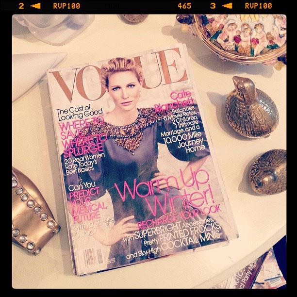 Vogue magazine november 2006, Cate Blanchett
