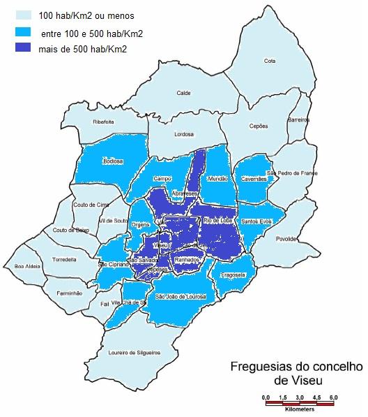 mapa das freguesias do concelho de viseu Viseu, Senhora da Beira.: Viseu 34 freguesias hoje e amanhã? mapa das freguesias do concelho de viseu