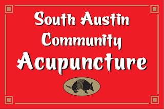 South Austin Community Acupuncture's sign circa 2006