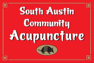 South Austin Community Acupuncture's sign circa 2006
