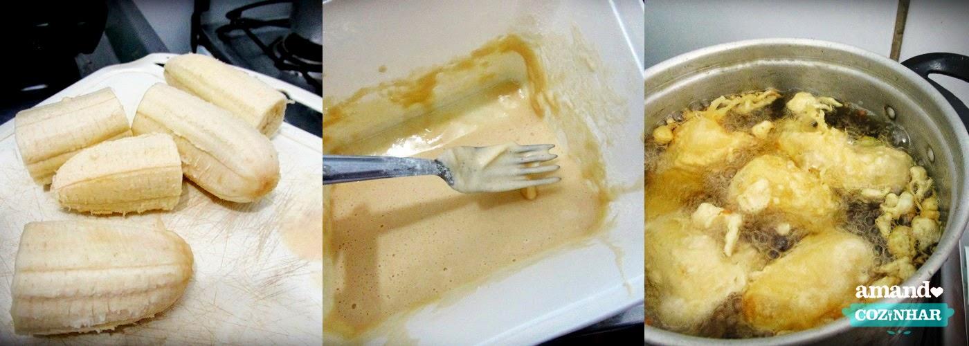 receita  Banana caramelizada restaurante chinês