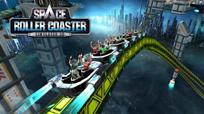 Roller Coaster Simulator Space mod apk