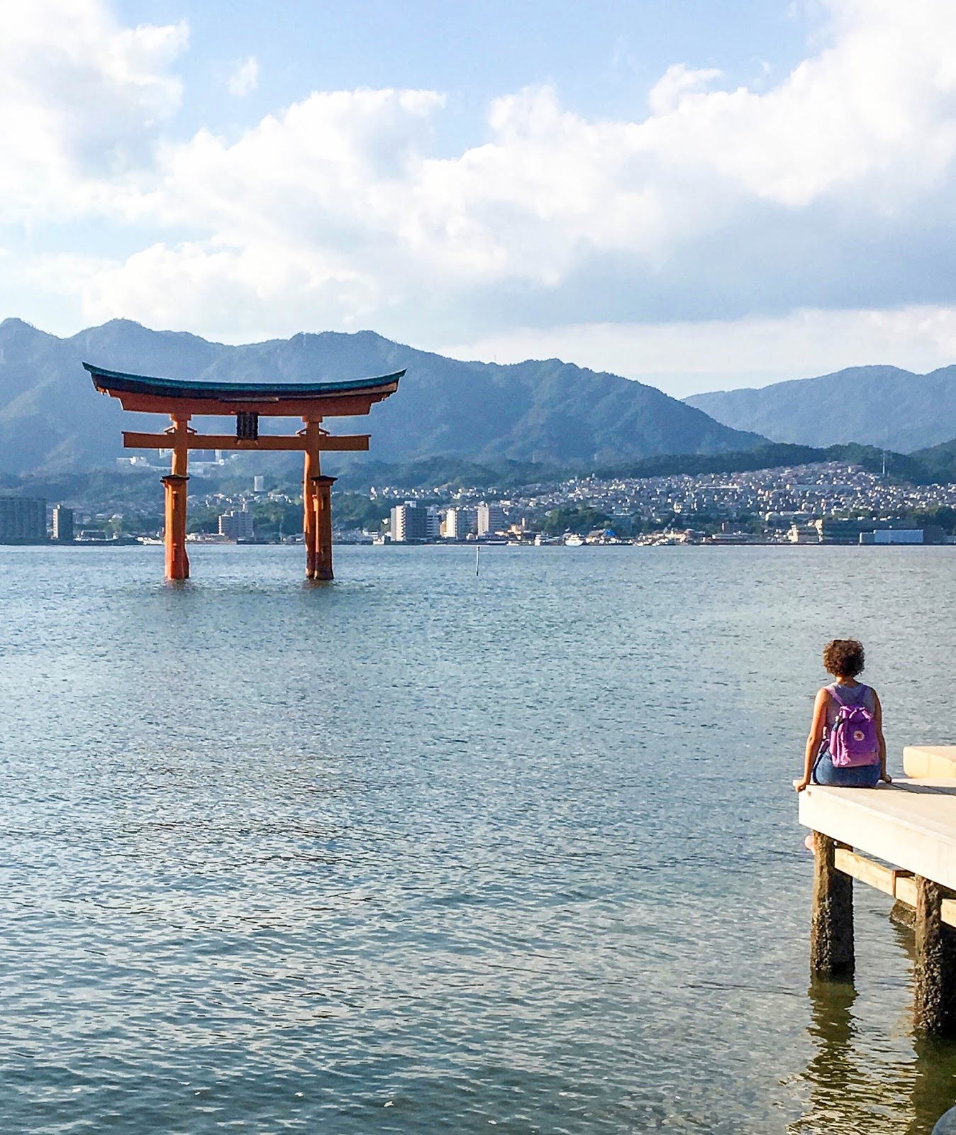 Floating Torii Gate of Miyajima, Japan