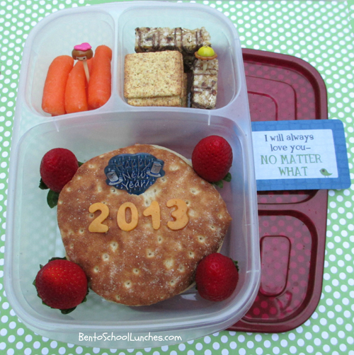 Happy New Year 2013, Bento School Lunch