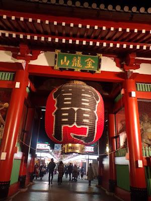 Puerta Kaminarimon sensoji