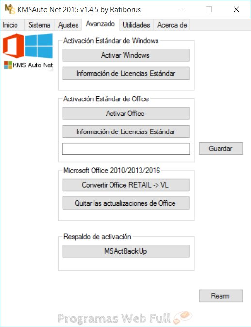 KMSAuto Net configuracion