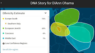 My DNA ethnicity estimate is different than either of my parents'
