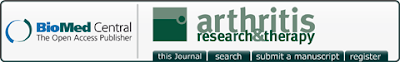 arthritis research therapy journal