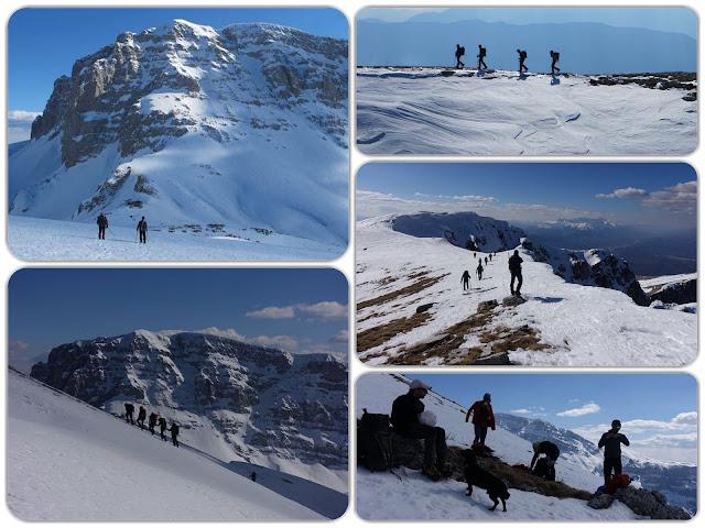 Χειμερινή εξόρμηση στις κορυφές της Τύμφης - : IoanninaVoice.gr