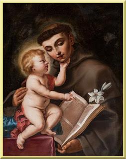 Baby Jesus with Saint Anthony of Padua - PD-1923