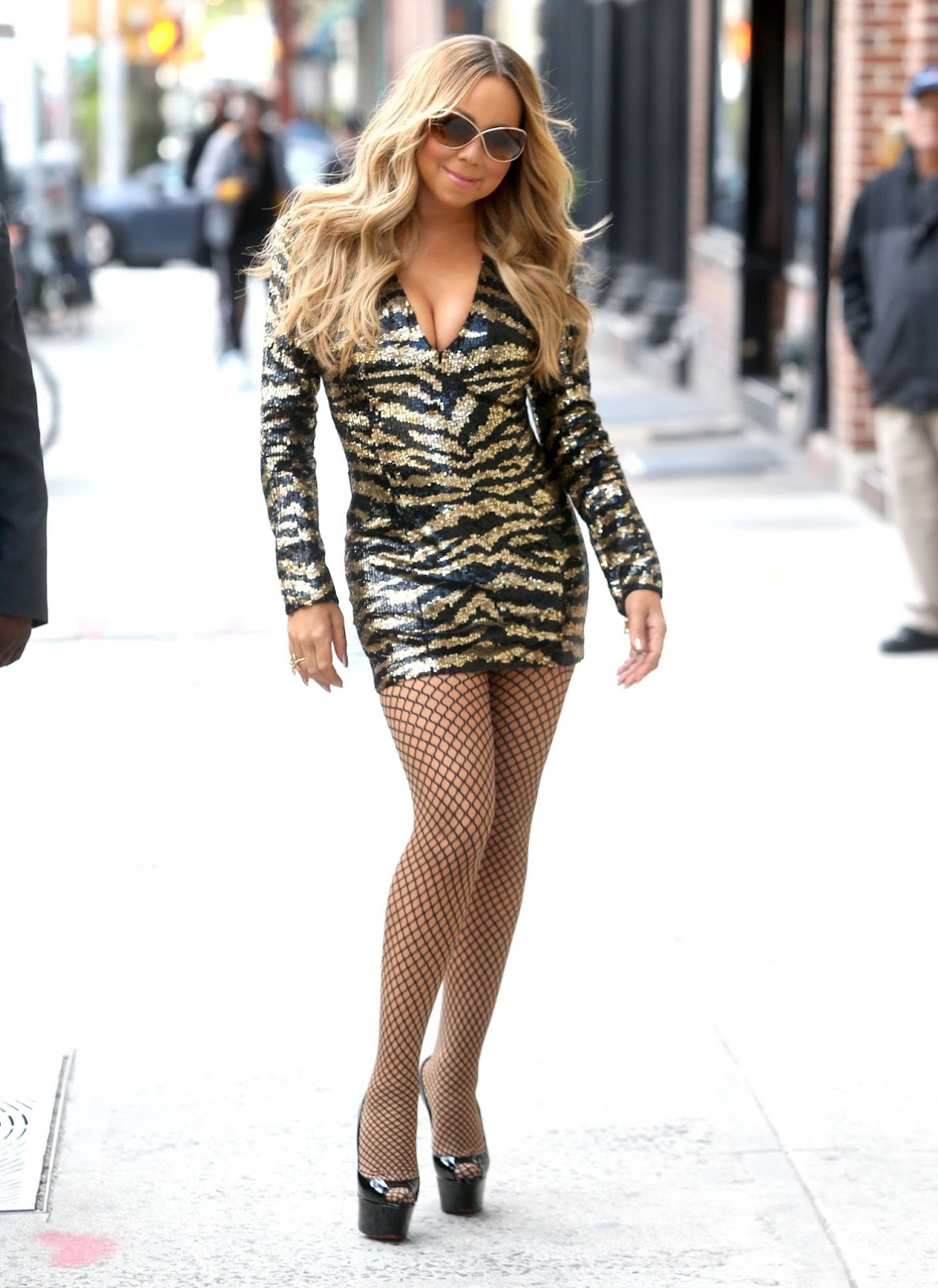 Mariah Carey in New York - Photo Mariah Carey 2016