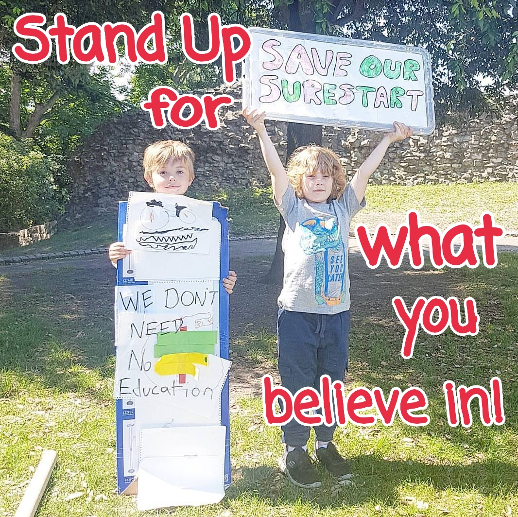 Inside Martyn's Thoughts: A Letter to My Children: Stand Up