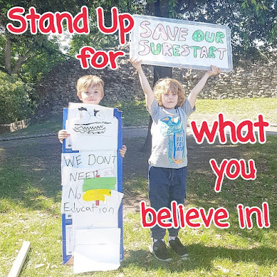 A Letter to My Children: Stand Up for what you Believe in!