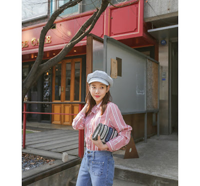 PPGirl striped shirt, $49.90 from YesStyle