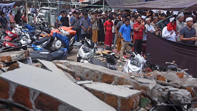 Korban Tewas Gempa Lombok Bertambah Jadi 392 Orang