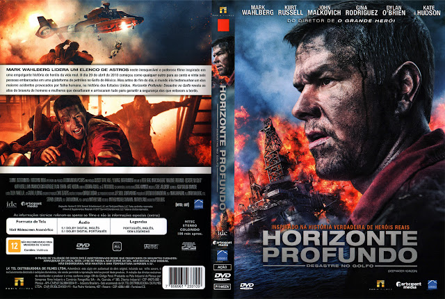 Capa DVD Horizonte Profundo