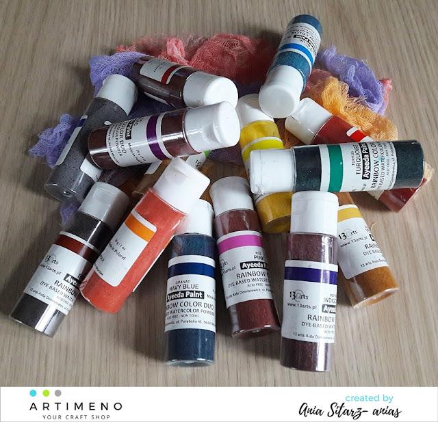 farby akwarelowe Rainbow Color