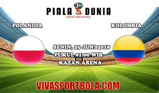 Prediksi Bola Polandia vs Kolombia 25 Juli 2018