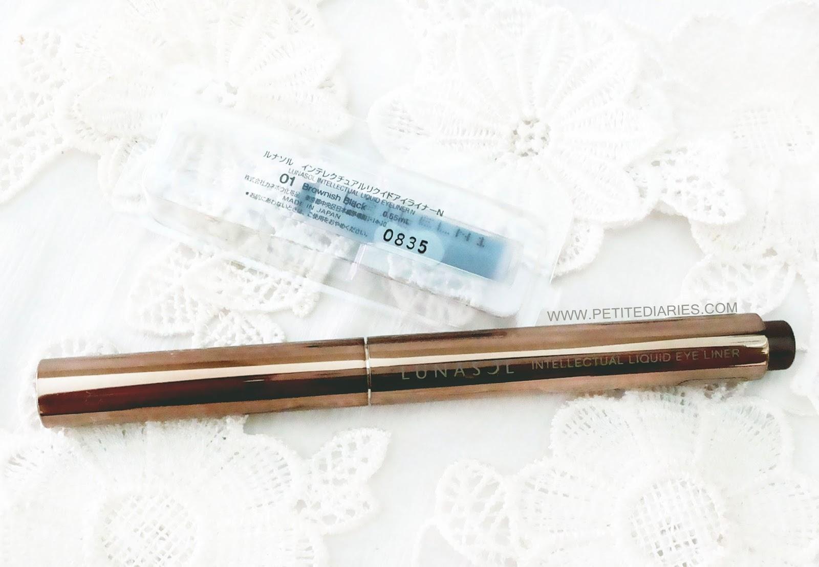 kanebo lunasol eyeliner japan