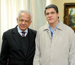 Pedro Simon PMDB e Paulo Marques