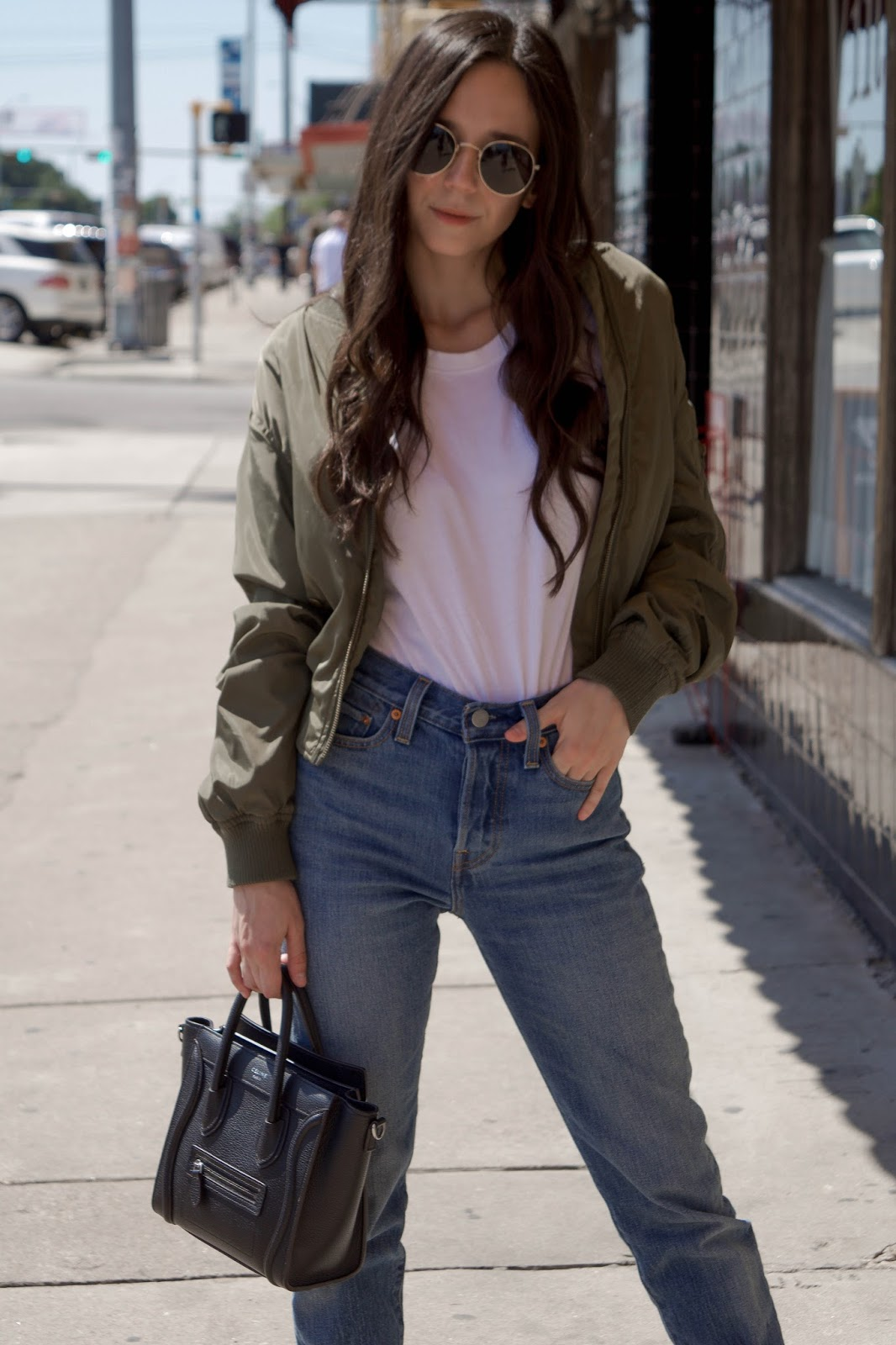 How to style a bomber jacket?