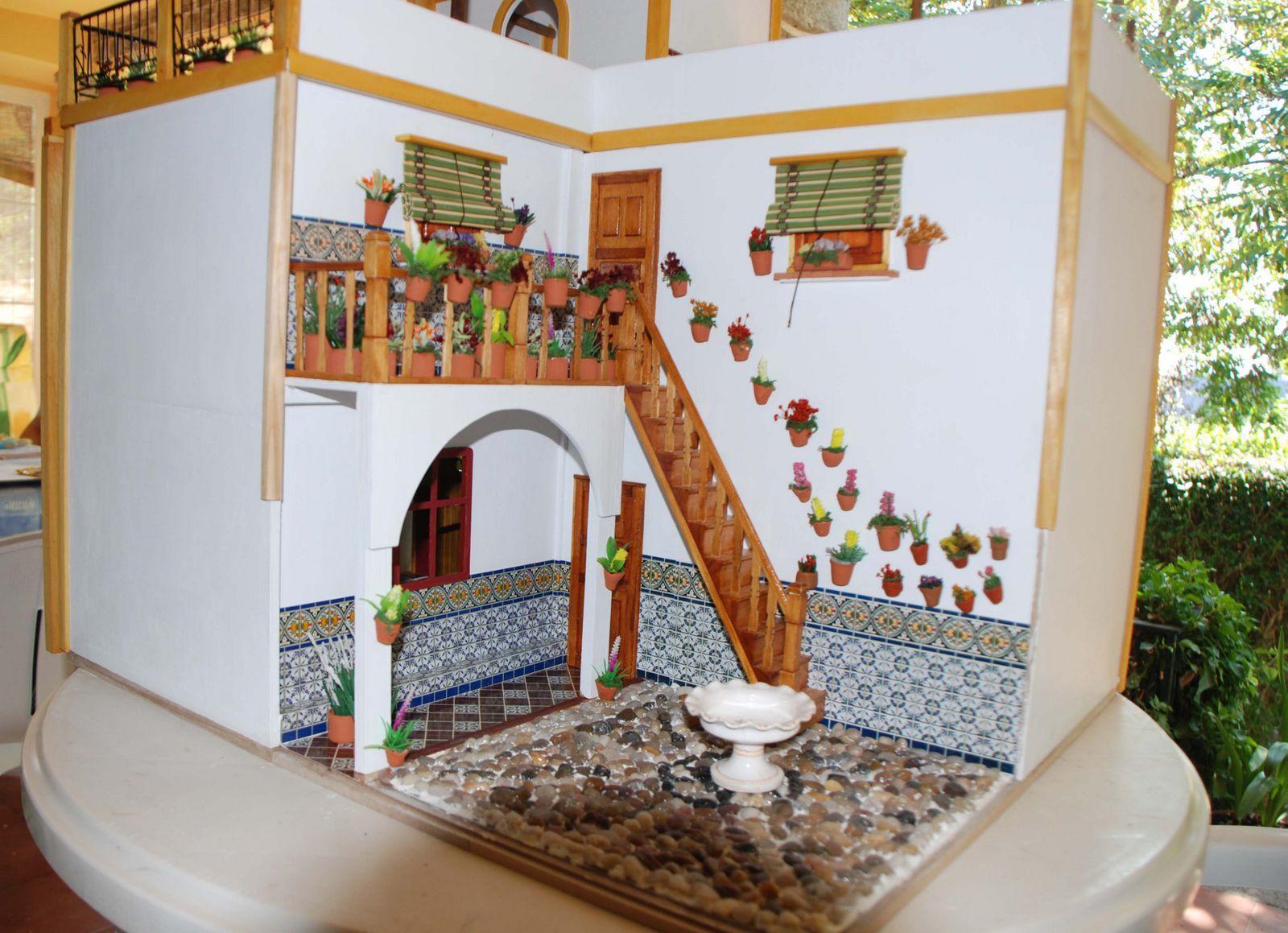 Minis y mas mi casa andaluza for Fotos de fachadas de casas andaluzas