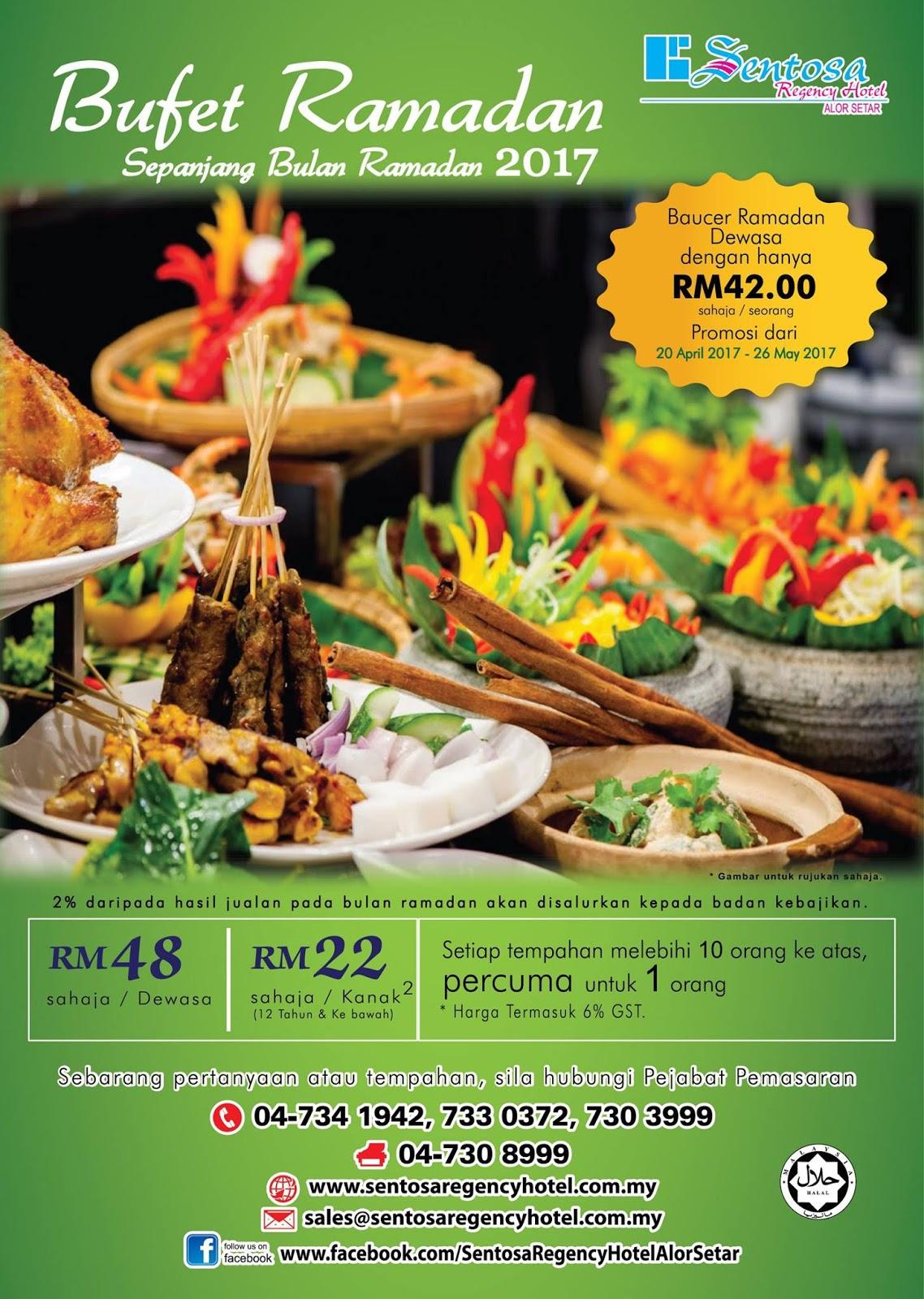 Buffet Ramadhan sentosa regency hotel kedah