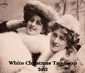 2012 White Christmas Tag Swap