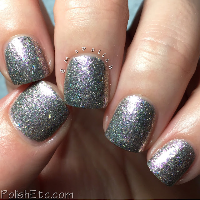 GlitterDaze - Escape to Paradise Collection - McPolish - Getting Steamy in Santorini