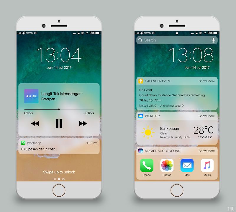 iOS Alakadarnya 11 Theme