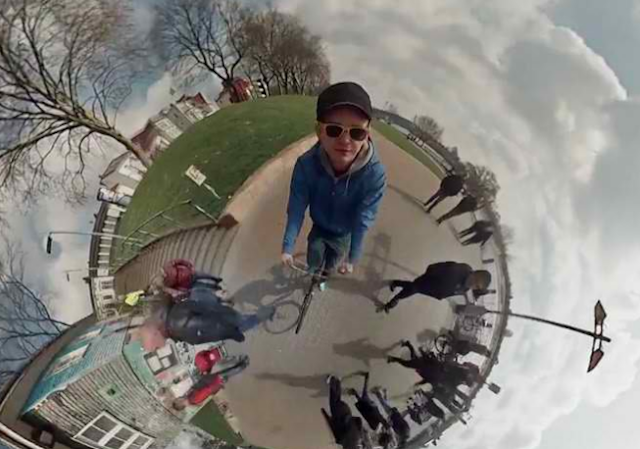 Awesome 360° Video Shot With GoPro Cameras