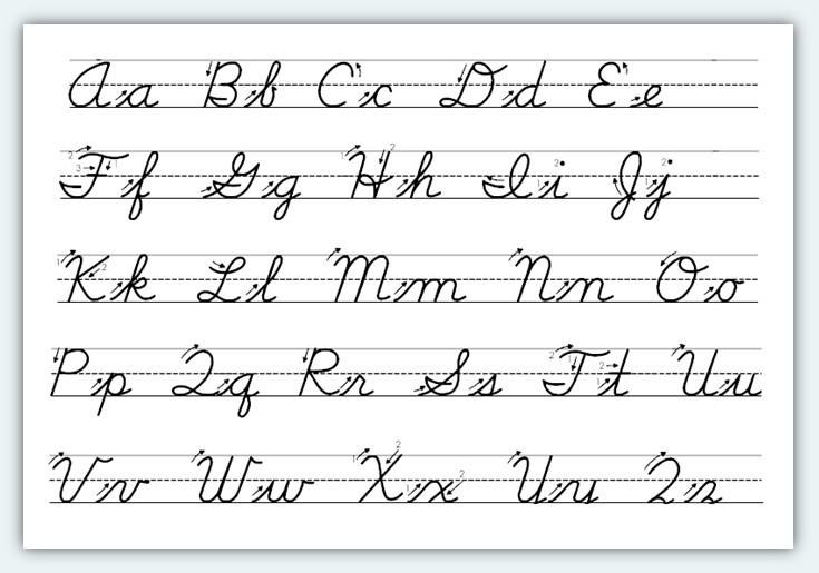 printables. cursive writing. 11 cursive writing templates free ...