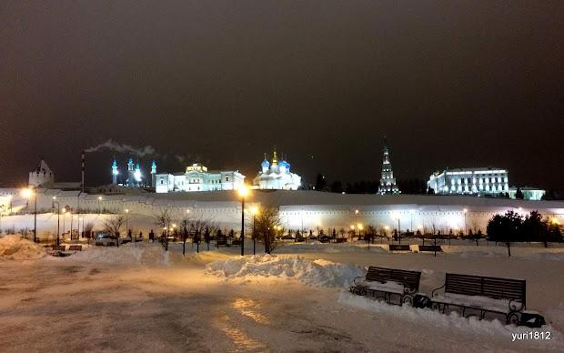 Панорама Казанского кремля.