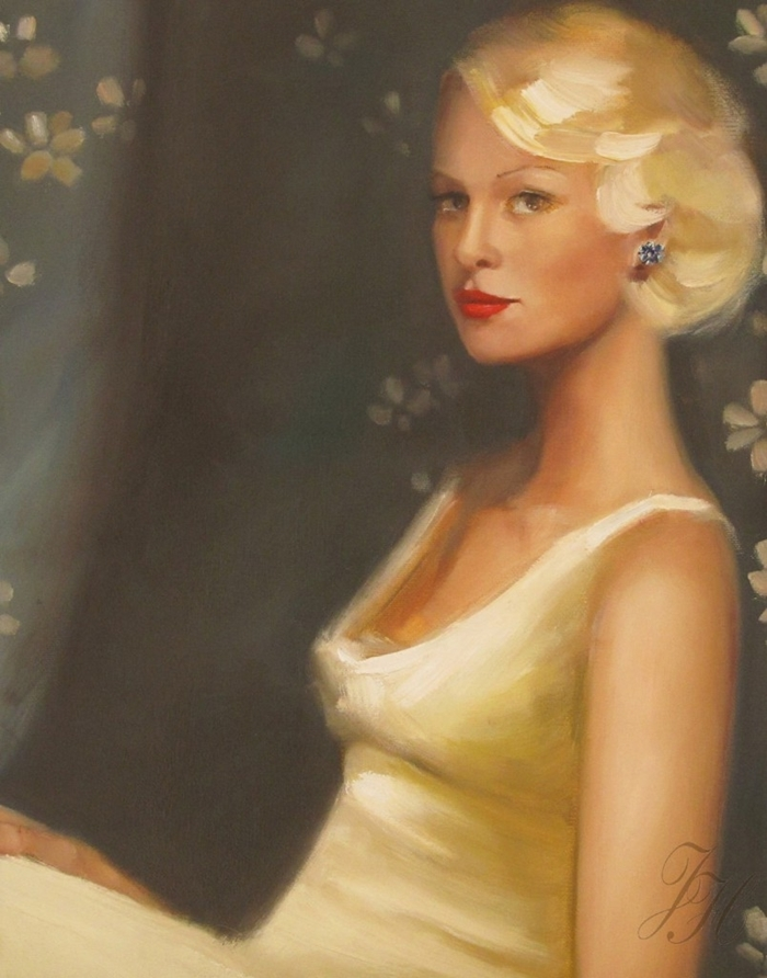 Janet Hill | Canadian painter | Vintage glamour