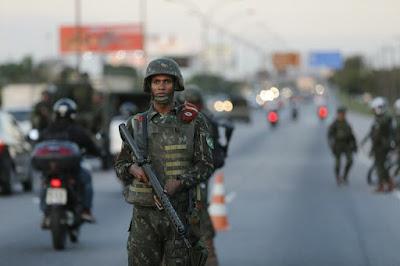 Ibope: 90% dos cariocas reconhecem importância do Exército na redução da violência