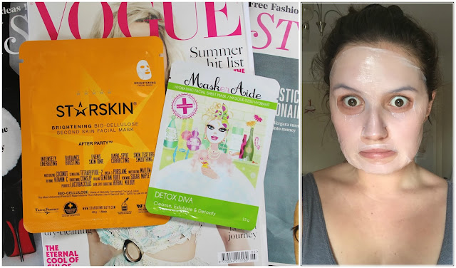 blog blogger beauty skincare sheet masks starskin brightening cio-cellulose second skin facial masker aide detox diva alex steinherr instagram tried and tested kirstie pickering review