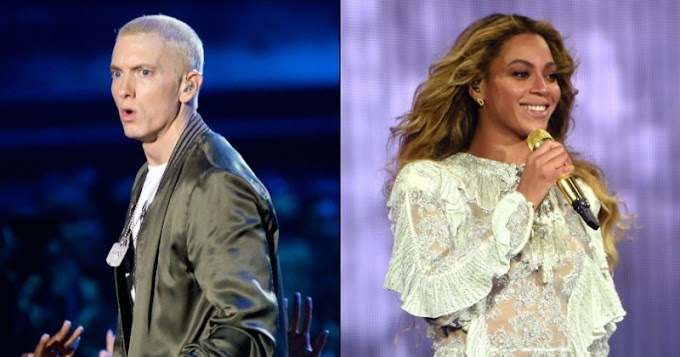 Eminem and Beyoncé 'Walk on Water' in moving new single — listen now