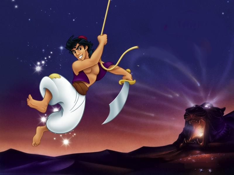 Trending Celebrities Aladdin Cartoon
