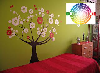 Combinar de colores complementarios