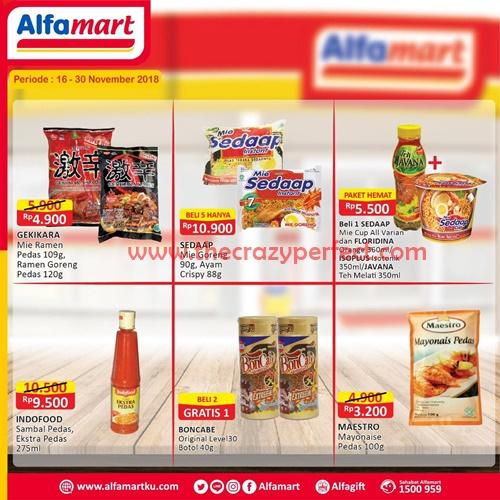 Promo Heboh Alfamart Bulan November 2018