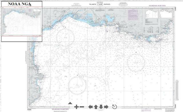 Carte+marine+Méditerranée+