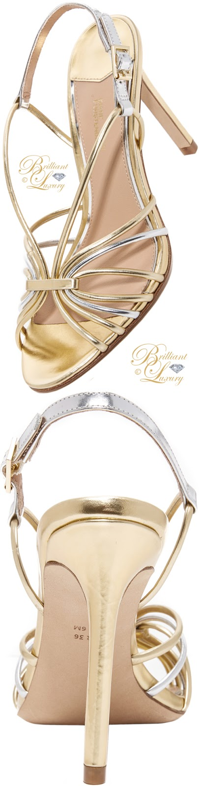 Brilliant Luxury ♦ Diane von Furstenberg Milena slingback strap sandals