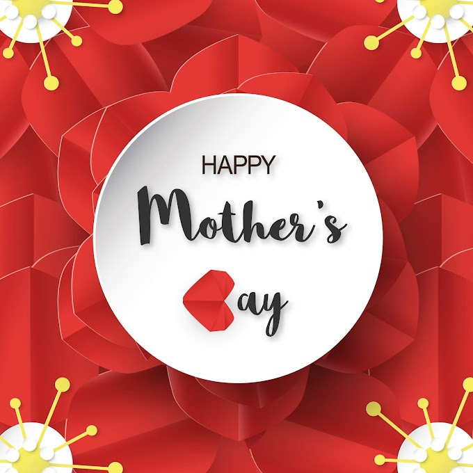 Template design for happy mother's day. Free Vector Download