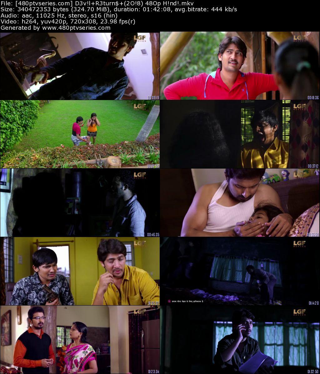Devil Returns (2018) 300Mb Full Hindi Dubbed Movie Download 480p HDRip Free Watch Online Full Movie Download Worldfree4u 9xmovies
