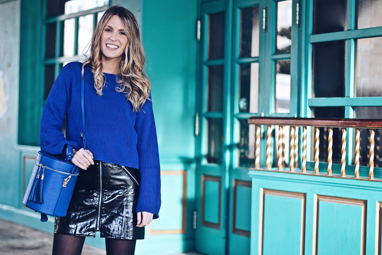 jersey azul eléctrico