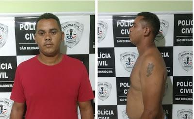 Polícia Civil de São Bernardo-MA cumpre mandado de prisão contra estuprador