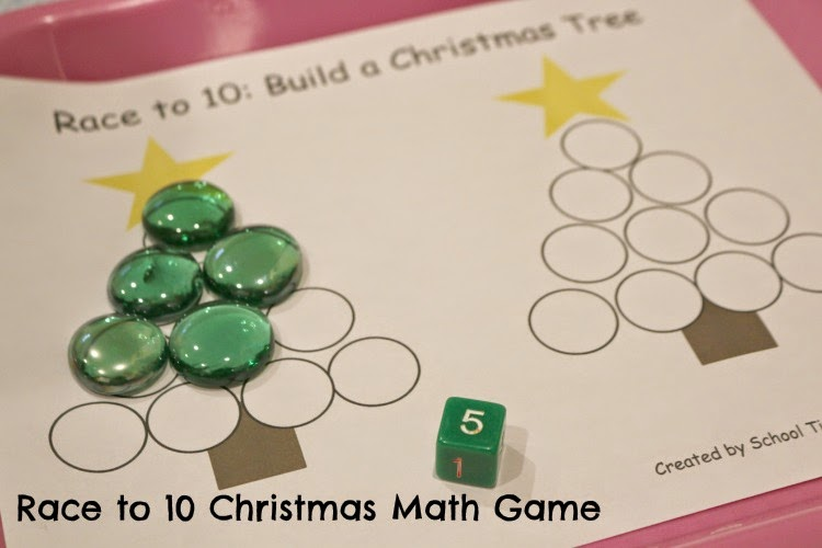 Christmas Tree Math Game