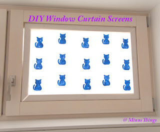 DIY Selfmade Tutorial How To Make Window Curtain Screens