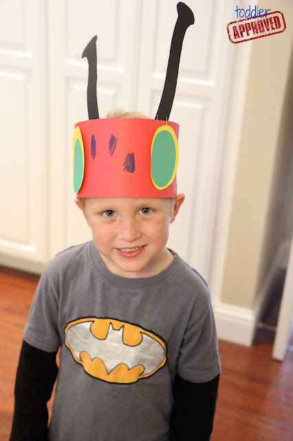 crazy hat craft ideas toddler approved 4 hungry caterpillar activities 4169