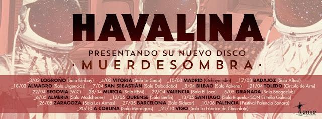 El trío madrileño HAVALINA presenta su nuevo disco en el OchoyMedio Club.